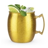 Comet: Gold Glitter Moscow Mule Mug by Blush