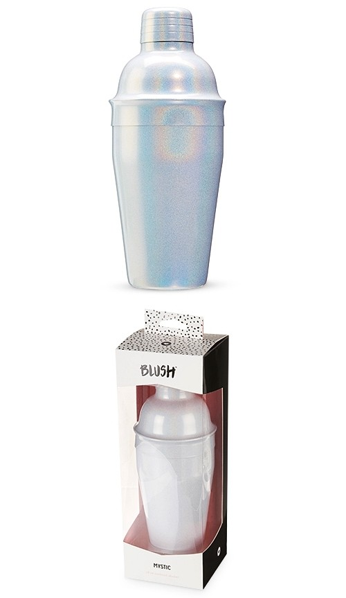Mystic: Color Shift Iridescent Cocktail Shaker by Blush
