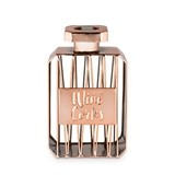 Rose Gold Finish Perfume Bottle-Shaped Cork Display by Blush