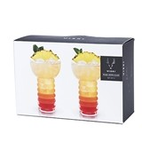 Raye: Pearl Diver Cocktail Glasses by VISKI (Set of 2)