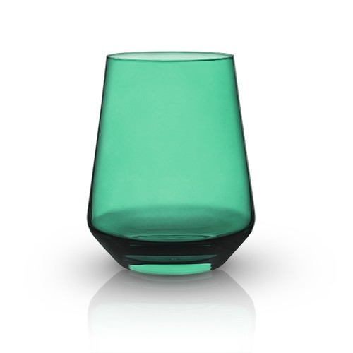 Raye: Crystal Saturated Tint Sea Green Tumbler (VISKI)