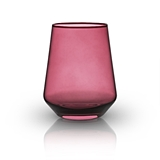 Raye: Crystal Saturated Tint Garnet Tumbler (VISKI)