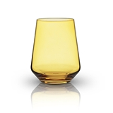 Raye: Crystal Saturated Tint Amber Tumbler (VISKI)