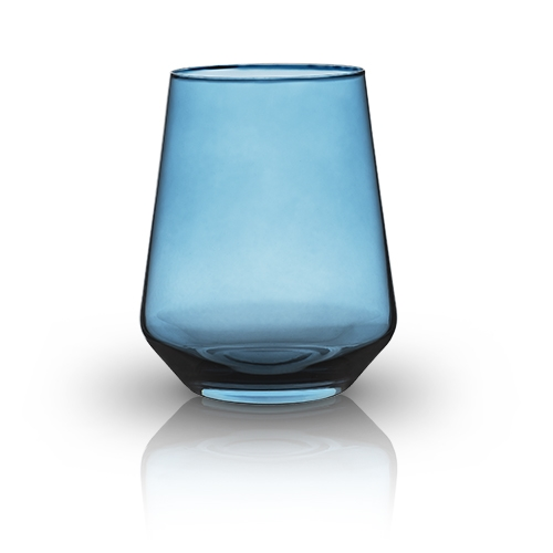 Raye: Crystal Saturated Tint Cerulean Tumbler (VISKI)