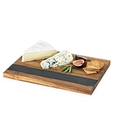 Rustic Farmhouse: Small Wood with Slate Serving Board