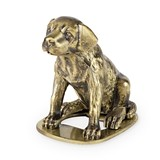 Brass-Finish Labrador Bottle Opener by Foster & Rye