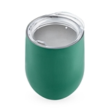 Sip & Go Stemless Wine Tumbler in Green by True