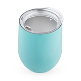 Sip & Go Stemless Wine Tumbler in Light Blue by True