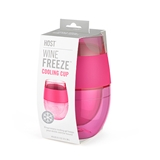 Wine FREEZE™ Cooling Cup in Translucent Magenta by HOST®