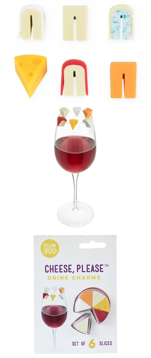 Cheese, Please™ Drink Markers by TrueZOO (Set of 6)