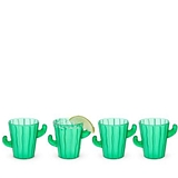 Desert Chic Cactus Shot Glasses by TrueZOO (Set of 4)