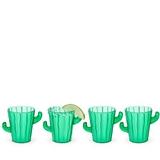 Desert Chic Cactus Shot Glasses by TrueZOO (Set of 4)