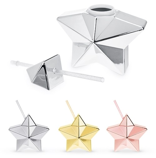 Multi-Faceted Star-Shaped Drink Tumbler by Blush® (Assorted Colors)
