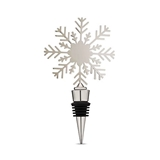 Holiday Snowflake Bottle Stopper by Twine