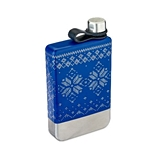 Nordic Knit Design Stainless-Steel Flask by Foster and Rye