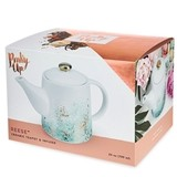 Reese Blue Ceramic Teapot & Infuser by Pinky Up