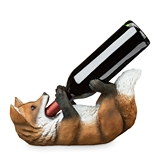 Fox Wine Bottle Holder by True
