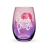Beach Please Stemless Wine Glass by Blush