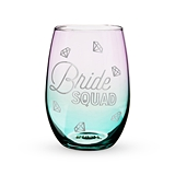 Bride Squad Stemless Wine Glass by Blush