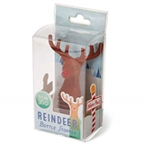 Red-Nosed Reindeer Bottle Stopper by TrueZoo