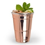 Fred Collection Copper-Plated Stainless-Steel Party Cup by True