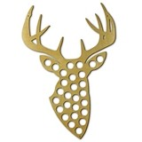 Trophy Buck Shaped Beer Bottle Cap Trap by True