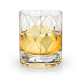 Admiral: Art Deco Design 10oz Lead-Free Crystal Tumbler 3 by VISKI