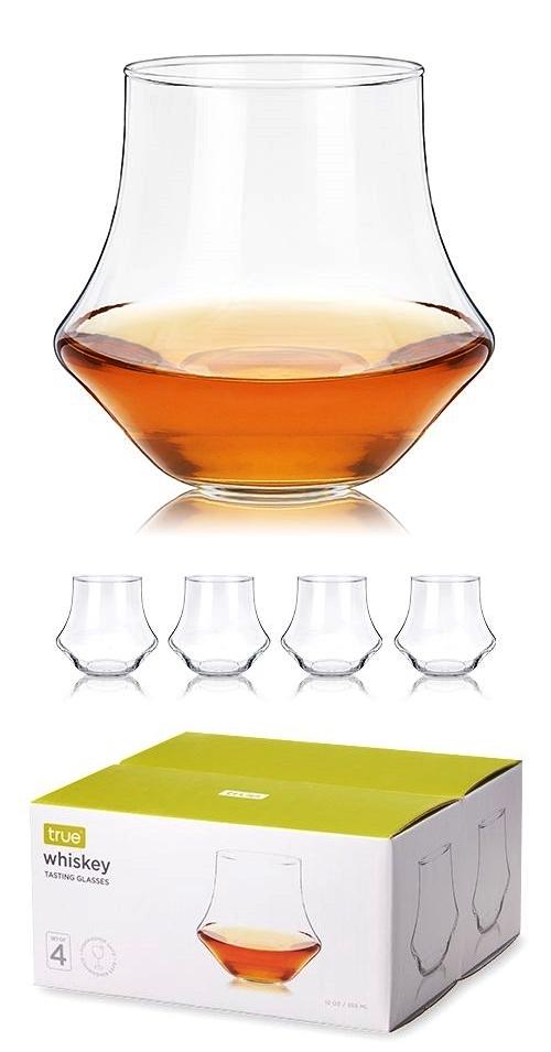 Essential Whiskey Tasting Glasses by True (Set of 4)
