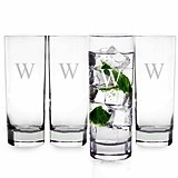 Sleek and Stylish Personalized Mojito Glasses (Set of 4)