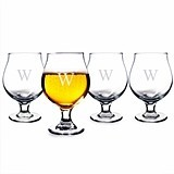 Cathy's Concepts Personalized Belgian Beer Glasses (Set of 4)