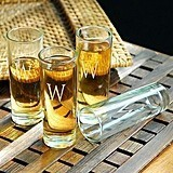 Personalized 2.25 oz. Island Shooter Glasses (Set of 4)