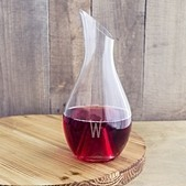 Cathy's Concepts Personalized 30 oz. Aerating Wine Decanter