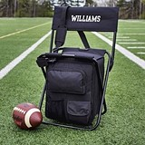 Personalized All-in-One Tailgate Cooler Chair with Back Supprt