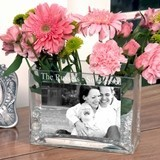 Classic Personalized Glass Vase/Picture Frame