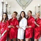 Cathy's Concepts Personalized Ultra-Soft Satin Robe (7 Colors)