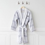 Cathy's Concepts Personalizable Turkish Cotton Robe with Terry Lining