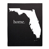 Cathy's Concepts My Home State Collection Gallery-Wrapped Canvas