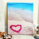 Cathy's Concepts 'Ocean Waves of Love' Gallery Wrapped Canvas