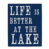 Life is Better at the Lake House Gallery-Wrapped Canvas