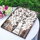 Personalized Our Family Tree Gallery-Wrapped Canvas/Guest Book