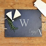Cathy's Concepts Personalized Vintage-Look Slate Serving Board