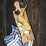 Cathy's Concepts Monogrammed Acacia Wood Serving Board