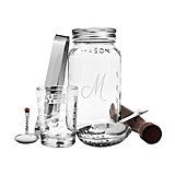 Cathy's Concepts Personalized Mason Jar Mixology Set