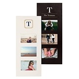 Cathy's Concepts Personalized Multi-Photo Frame (Black or White)