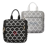 Cathy's Concepts Personalizable Moroccan Pattern Hanging Cosmetic Bag