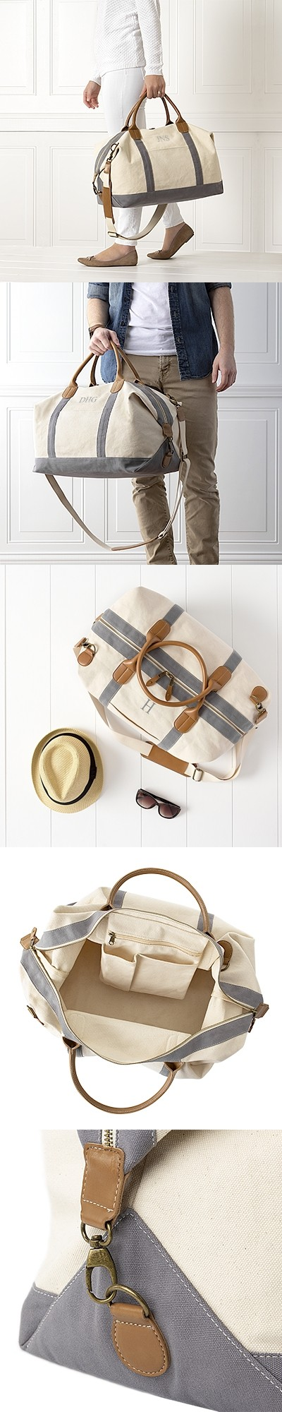 Cathy's Concepts Personalizable Oversized Transport Weekender