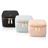 Personalized Saffiano Vegan-Leather Jewelry Case (Choice of 3 Colors)