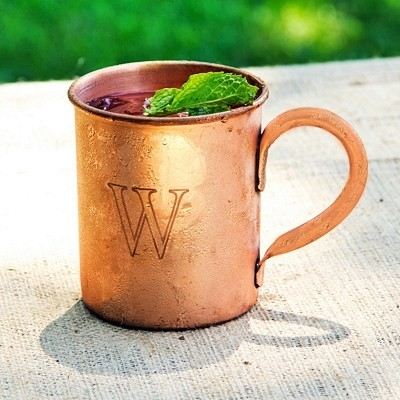 Personalized 17 oz. Moscow Mule Copper Mug with Polishing Cloth