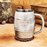 Cathy's Concepts Personalized 14 oz. Keg-Shaped Beer Mug