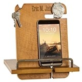 Cathy's Concepts Personalizable Wooden Multi-Function Docking Station